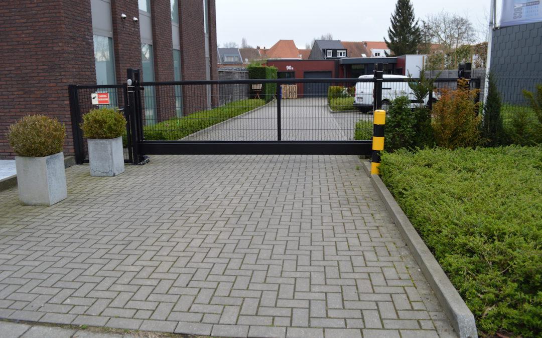 Oprit poort